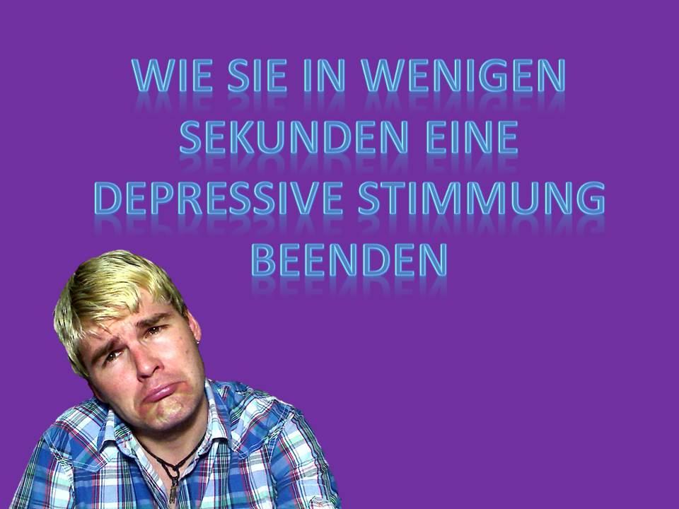Depressive Stimmung beenden