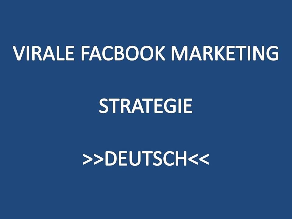 Virale Facebook Marketing Strategie Deutsch